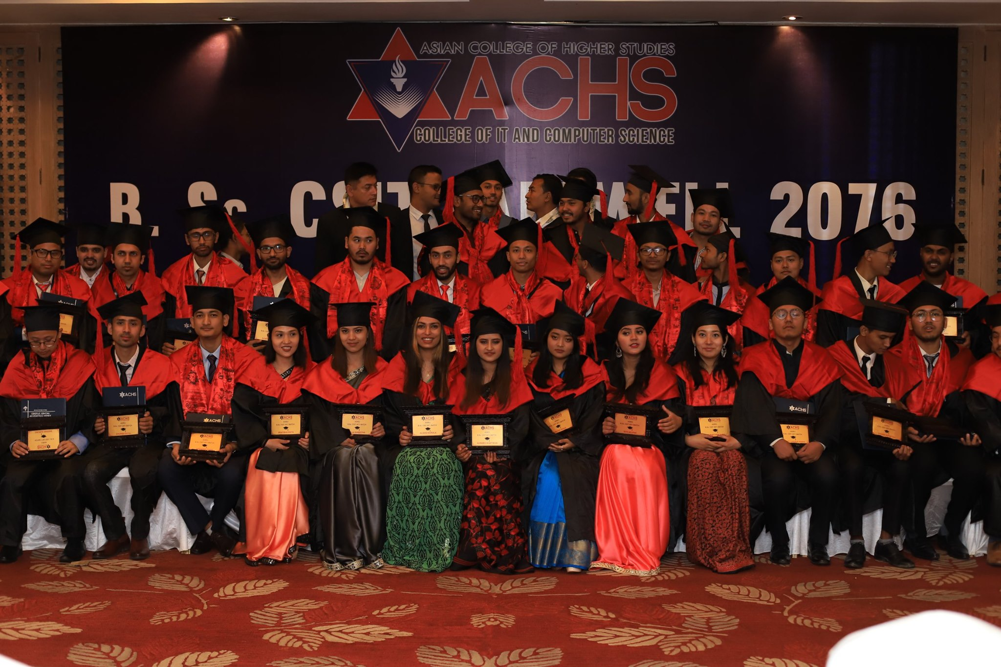 CSIT 2071 Batch Graduation Ceremony