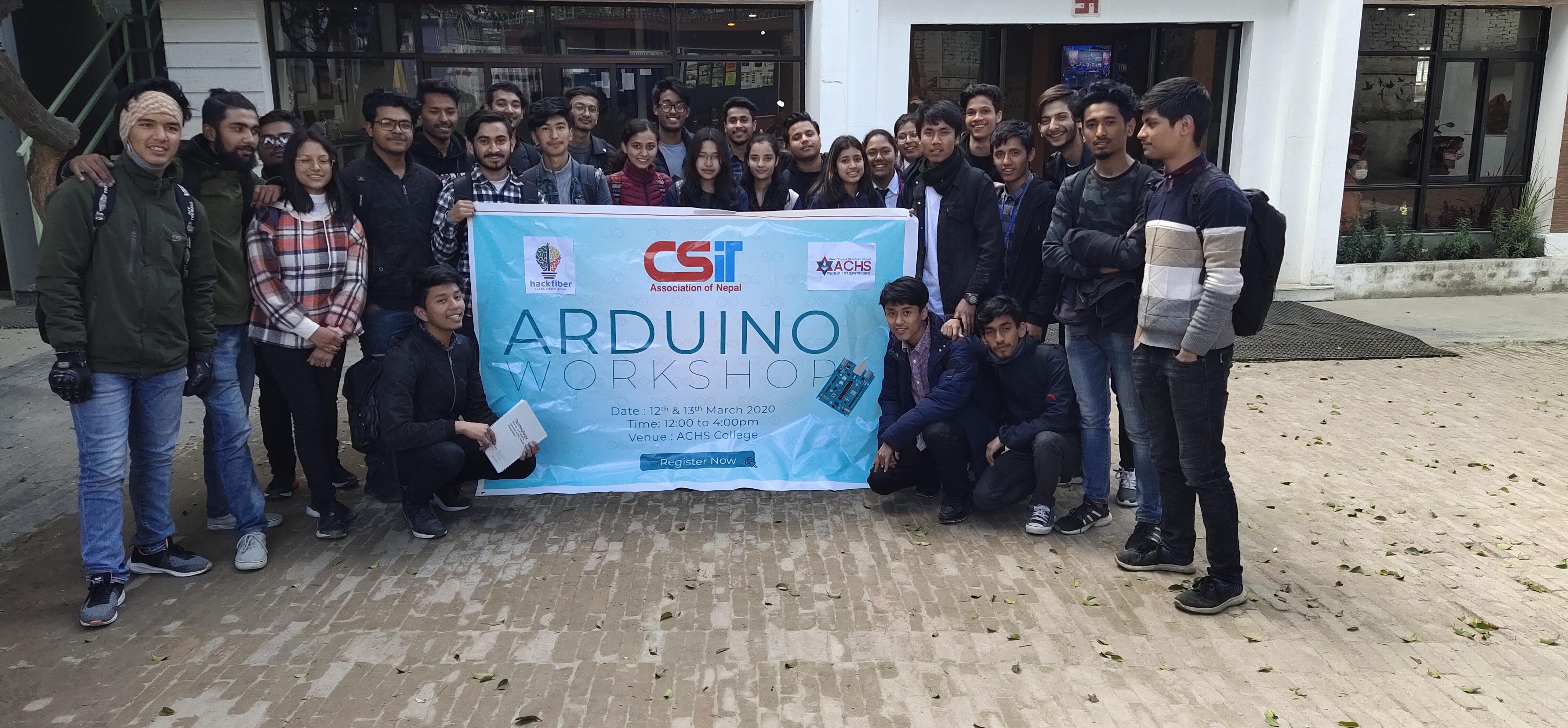 2-DAYS WORKSHOP ON ARDUINO
